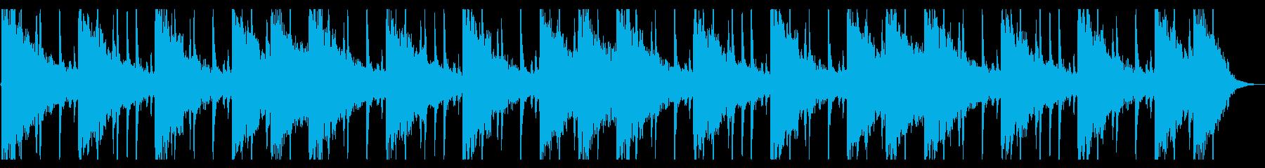 捜索するようなR&B_No616_5の再生済みの波形