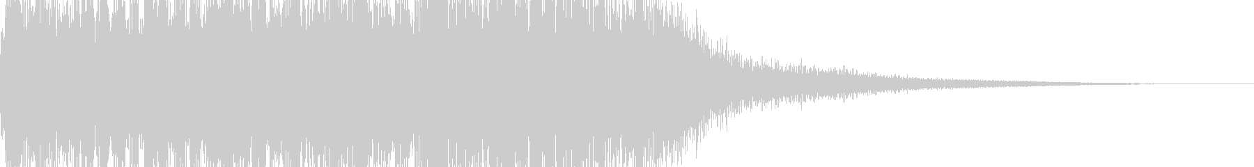 魔法をかける音/マジック/ファンタジーの未再生の波形