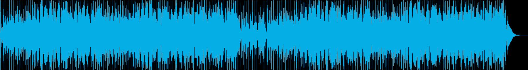 午後のまったりチルタイムに/ボサノバの再生済みの波形