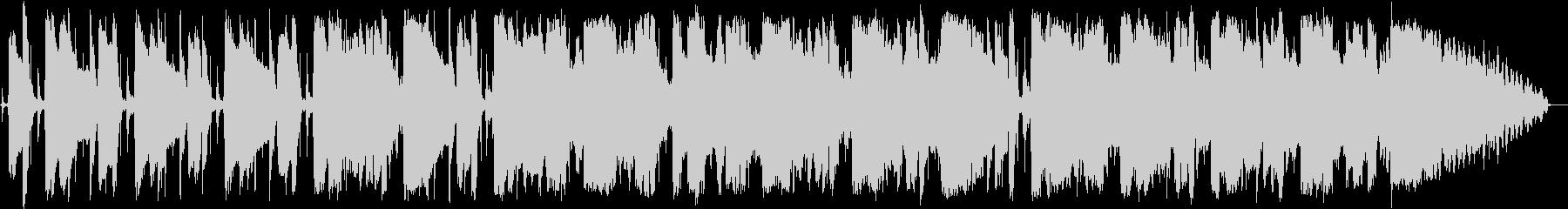 ロックブルースの短いインストの未再生の波形