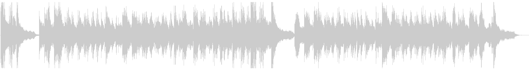 Refreshing wedding style BGM's unreproduced waveform