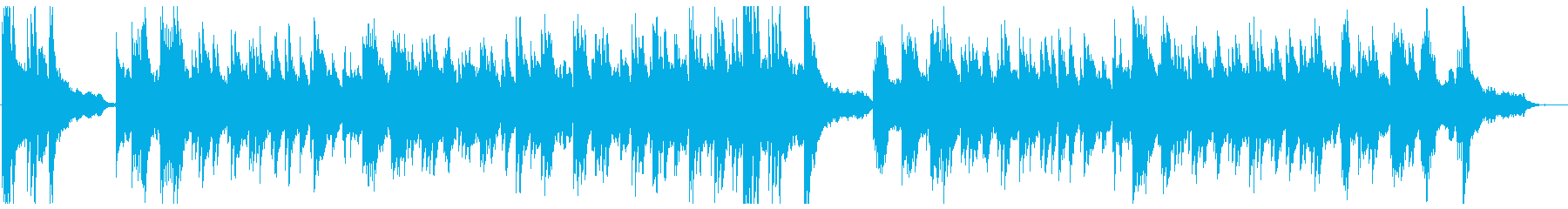 Refreshing wedding style BGM's reproduced waveform