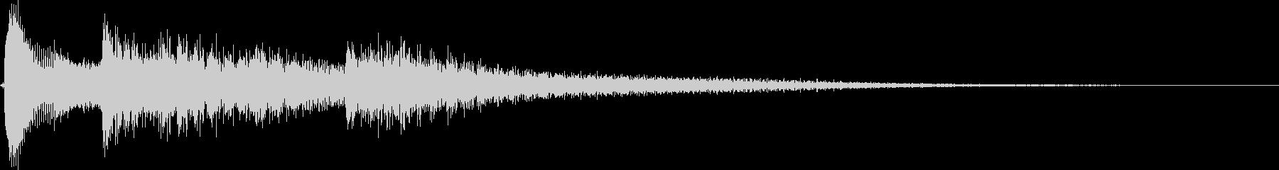 Raw guitar, slightly depressed and sad jingle's unreproduced waveform