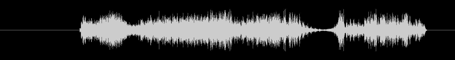 特撮 グリッチショート01の未再生の波形