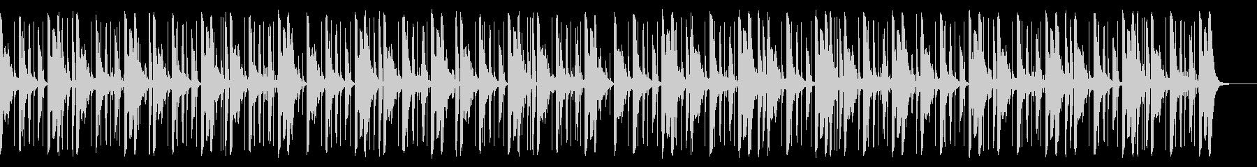 118 BPMの未再生の波形