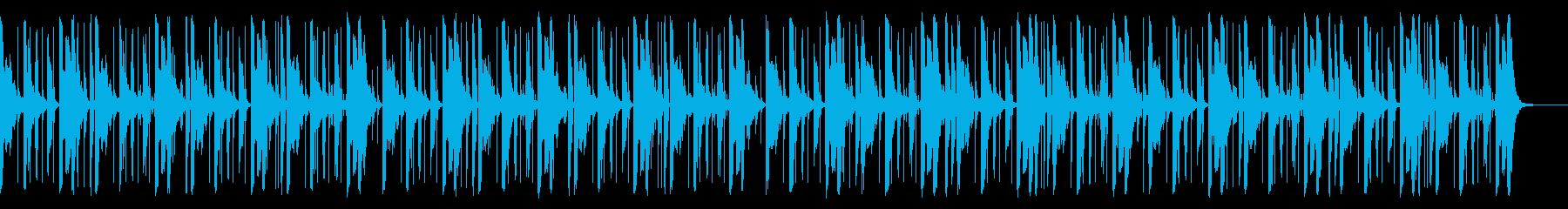 118 BPMの再生済みの波形