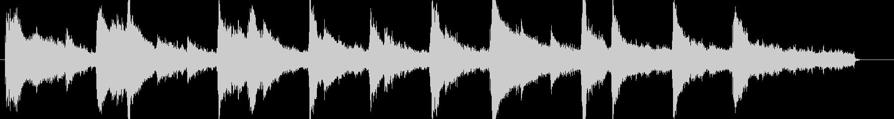 ジングル - 優しく切ないゆっくり曲の未再生の波形