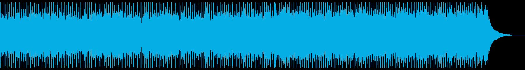 広告音楽(中)の再生済みの波形