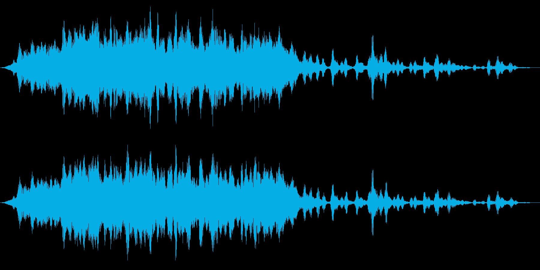 マシンストレッチ、メタルワープ、デ...の再生済みの波形