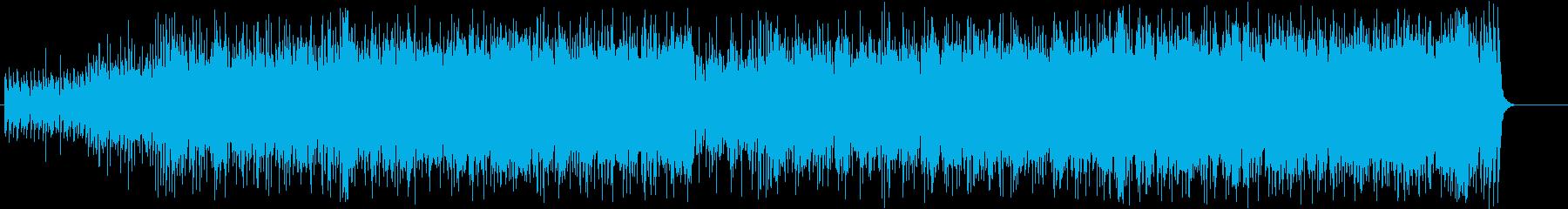 アンダーグラウンドなムードが今風ポップの再生済みの波形