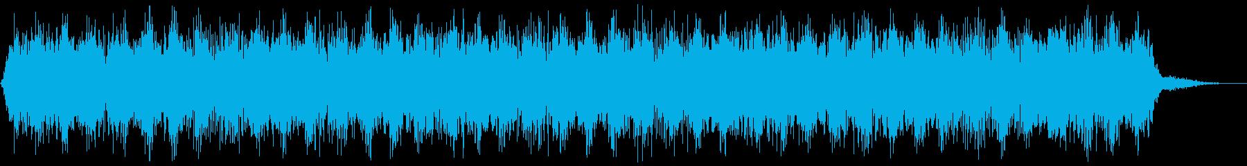 【アンビエント】ドローン_12 実験音の再生済みの波形