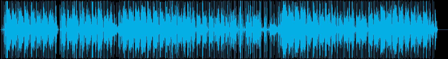 オシャレなスローテンポサウンドの再生済みの波形