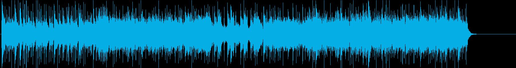 都会 大人 情報 CM 店内 テーマの再生済みの波形