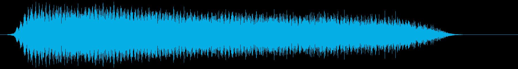 三連ホーン 長め(チープ) プァーの再生済みの波形