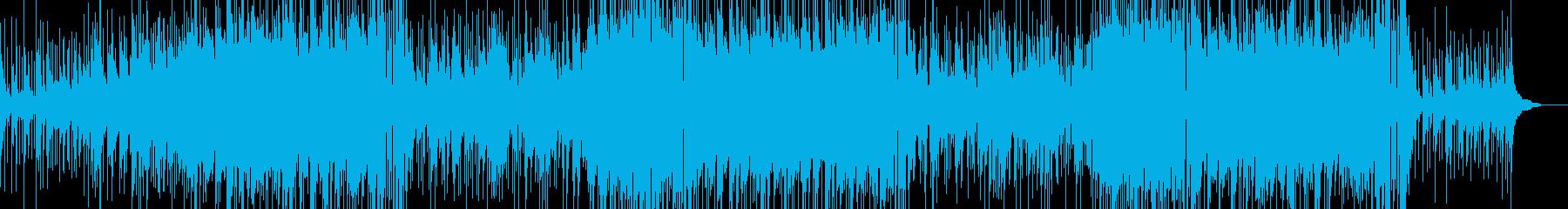 キレイなピアノに夏の涼風を感じるBGMの再生済みの波形