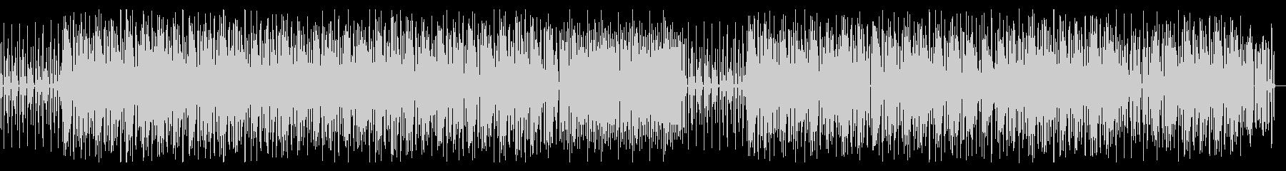 陽気 まったり ファンク・ブルース調の曲の未再生の波形