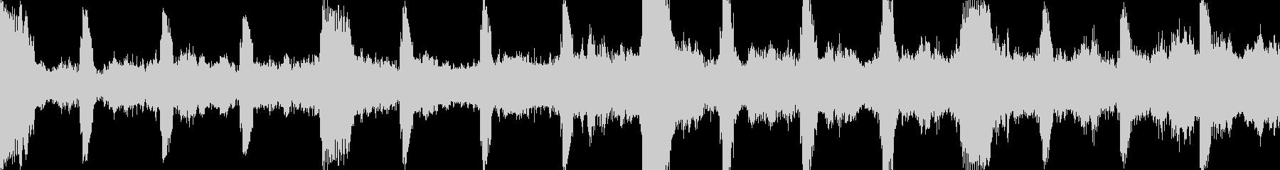 不気味なダーク・アンビエント・ループ◯の未再生の波形