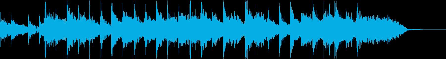 コーナータイトル_格闘技番組系の再生済みの波形