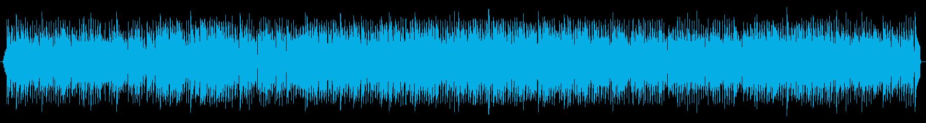 落ち着くジャズの再生済みの波形