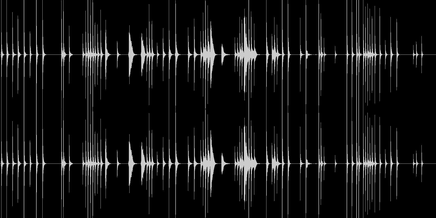 三味線132鷺娘30死ぬ合方長い方妖怪鷺の未再生の波形