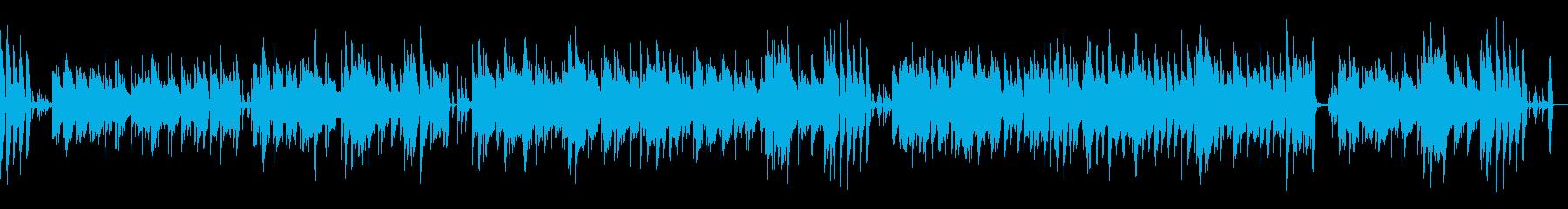 【メロなし】温かい・ほのぼの・陽気の再生済みの波形