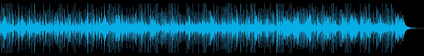 プロ生演奏・陽気なピアノデキシージャズの再生済みの波形