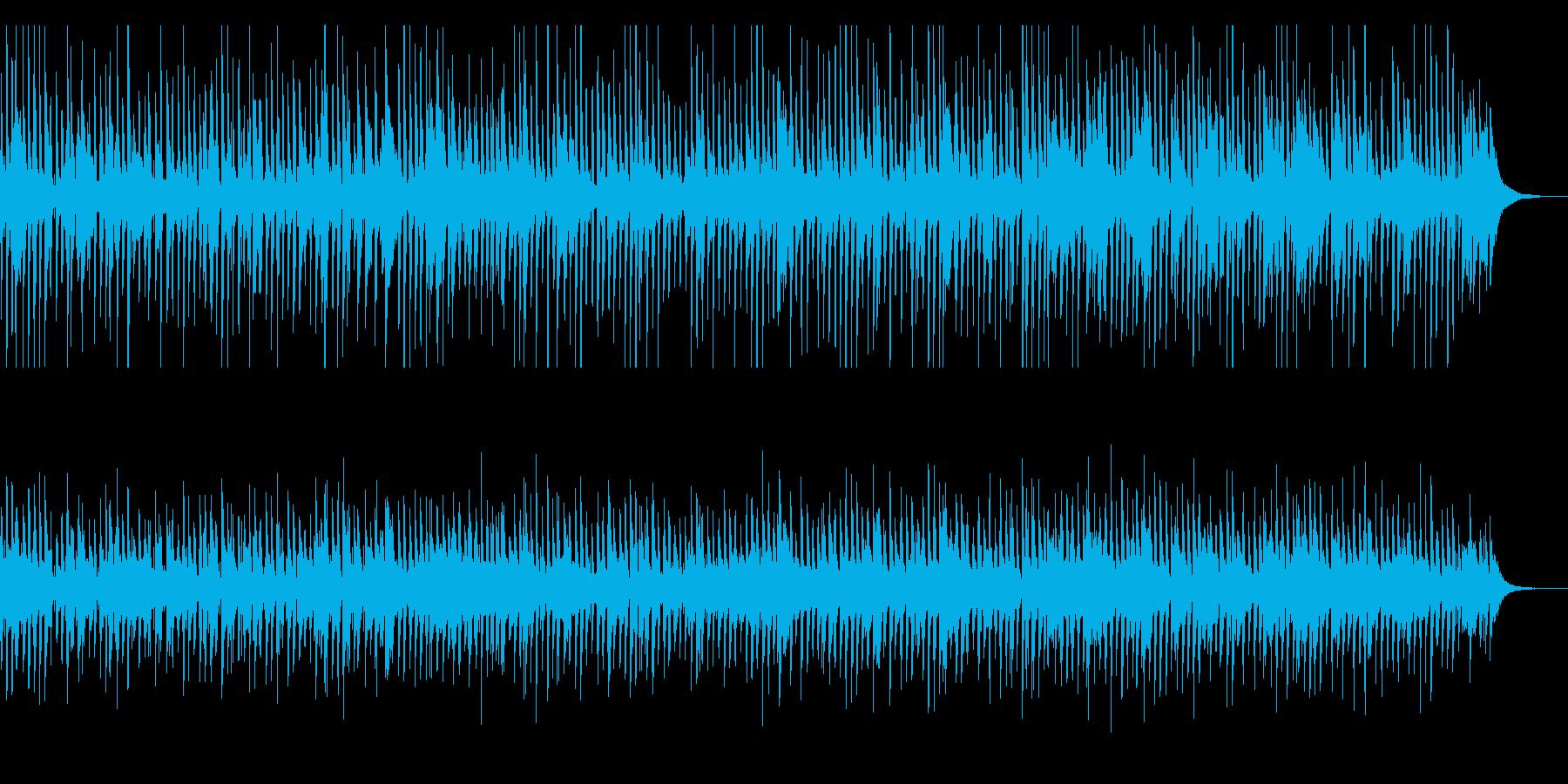 陽気なジャズピアノ・ディキシーランドの再生済みの波形