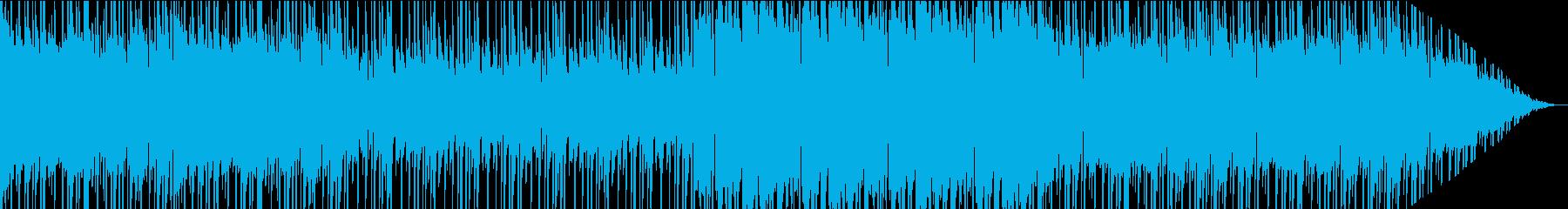 午後の優しいひと時を演出するBGMの再生済みの波形