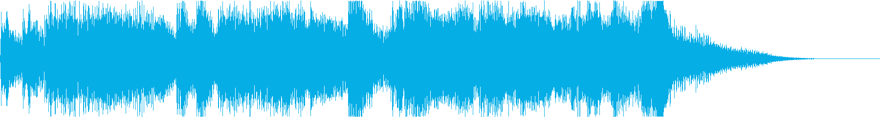 荘厳なオーケストラジングルの再生済みの波形