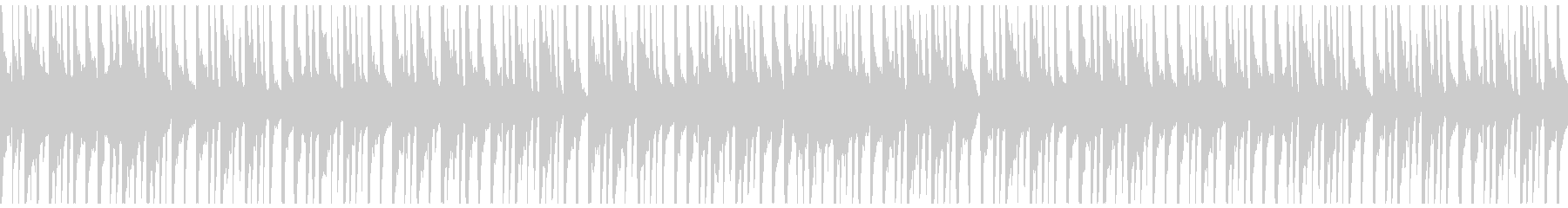 和楽器を中心としたお囃子・出囃子のループの未再生の波形