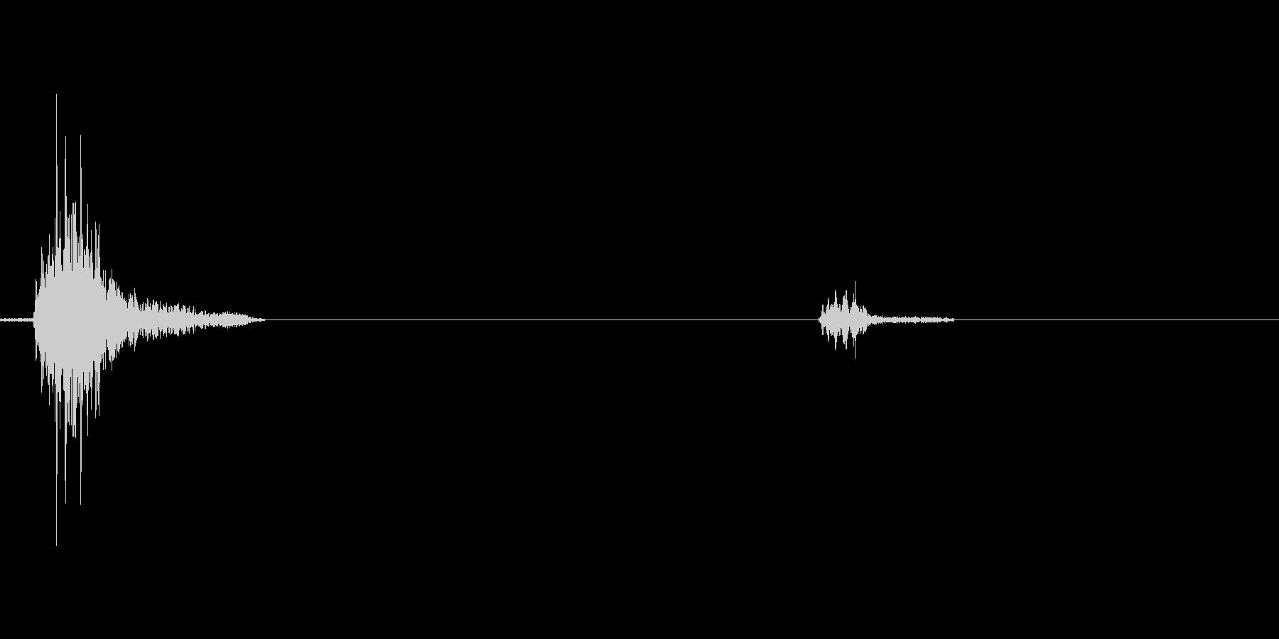 コホッコホ 咳(5歳の女の子) - 01の未再生の波形