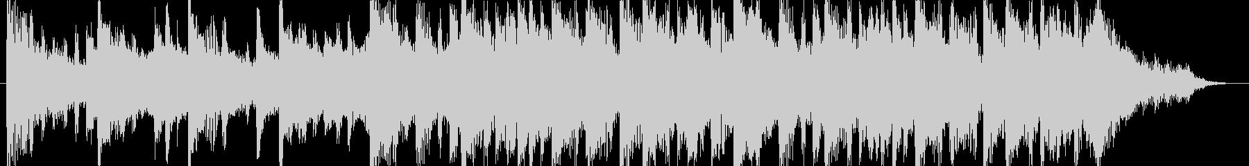 和む、でも少しクールなBGM-30秒の未再生の波形