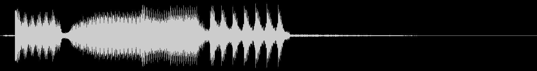誤作動スワイプ3の未再生の波形
