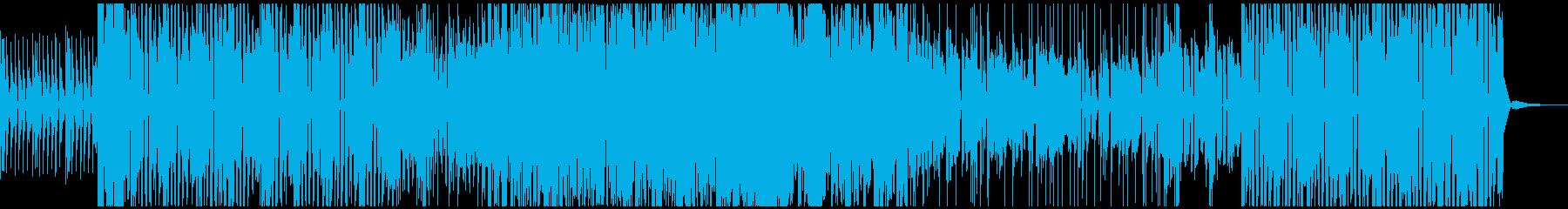 踊れるファンクジャズの再生済みの波形