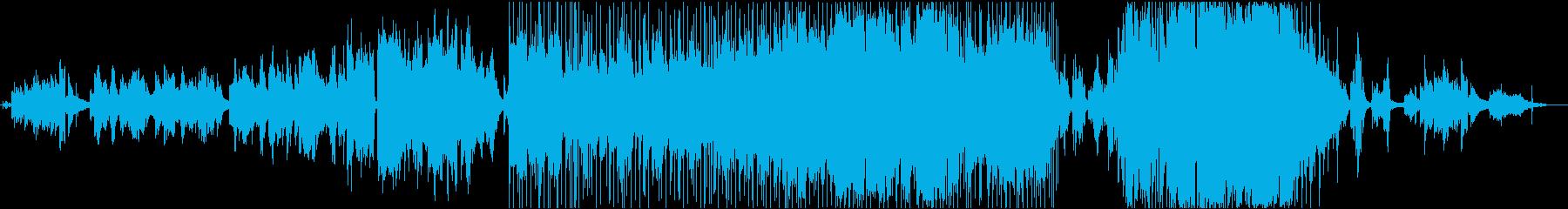 最後のいたずらの再生済みの波形
