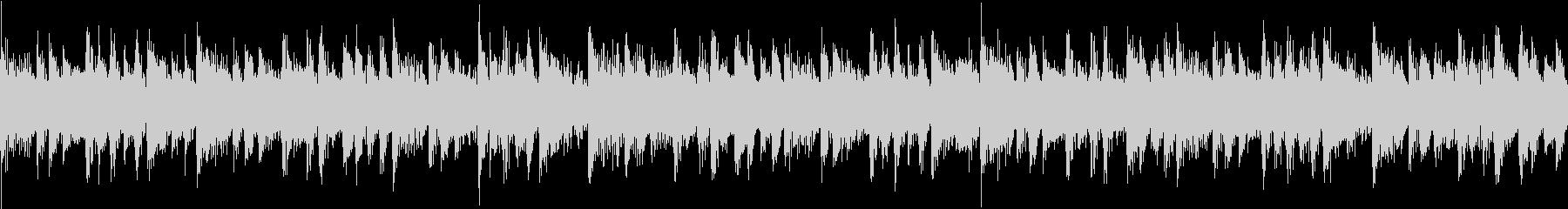 色々なBGMに使えるループサウンドの未再生の波形