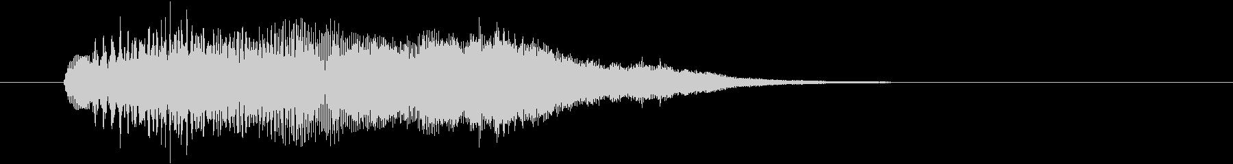 キラキラアルペジオ1の未再生の波形