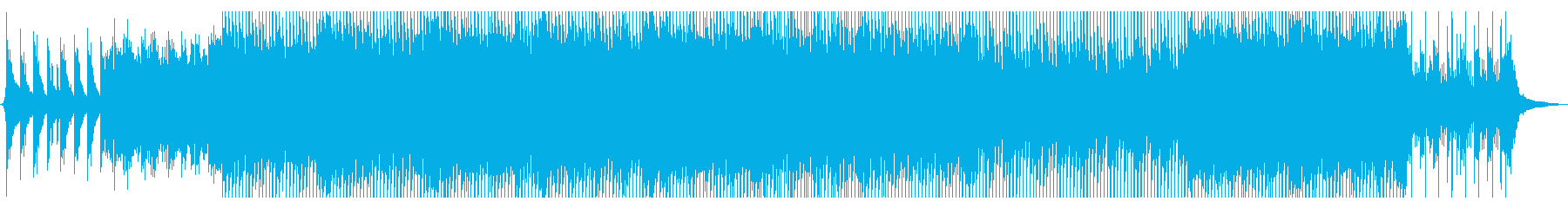 ピアノとストリングスの温かポップの再生済みの波形