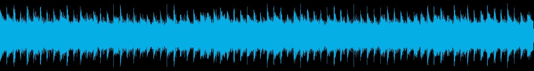 切ない雰囲気のアコギセンチメンタルループの再生済みの波形