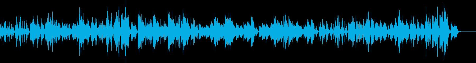 ベートーベンの月光#2の再生済みの波形