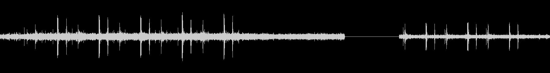 フォトコピー:ランニング、コンスタ...の未再生の波形