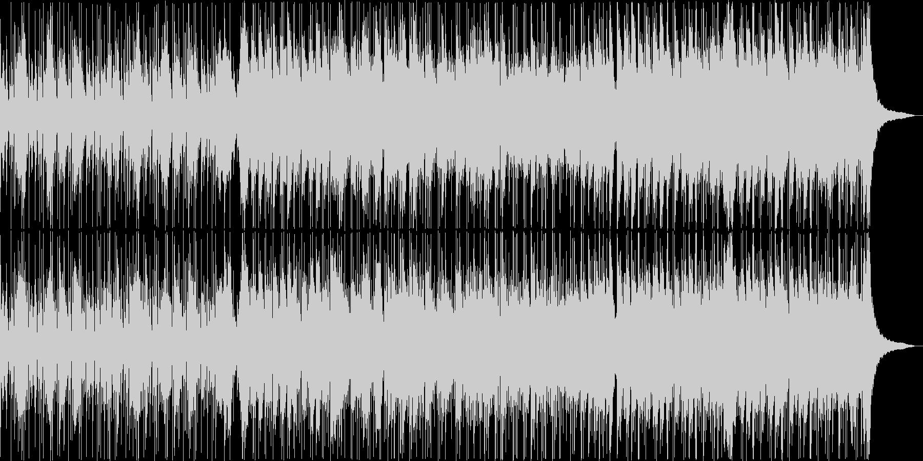 お散歩日和の花鳥風月な映像に琴の音色の未再生の波形