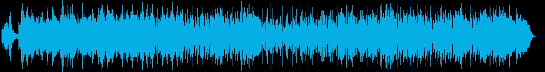 しみじみと感じる感動的なピアノのバラードの再生済みの波形
