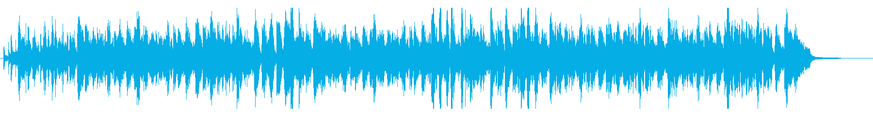 ハマグリをテーマにした楽曲の再生済みの波形