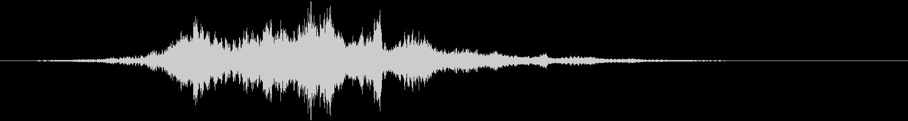 【ダーク】チリリリーンッッッ!!の未再生の波形