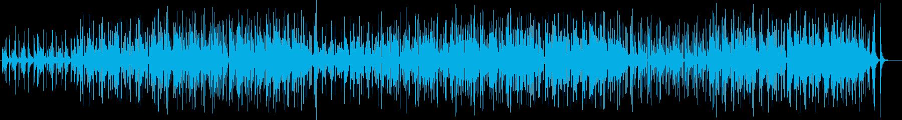落ち着いたムードのあるポップスの再生済みの波形