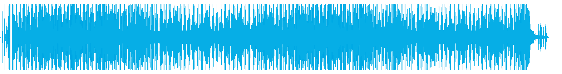 【短いVer6】70年代ファンクロック風の再生済みの波形