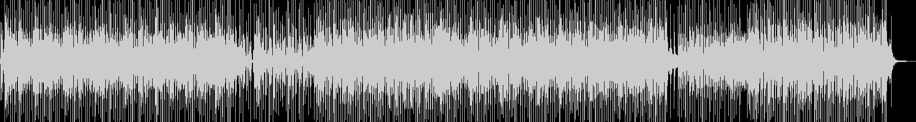 ほのぼの・バカンスイメージのレゲェの未再生の波形