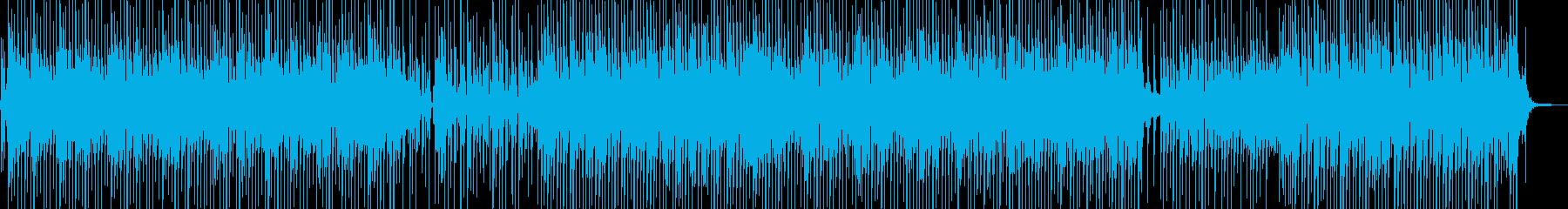 バカンスの雰囲気をイメージしたレゲェ Bの再生済みの波形