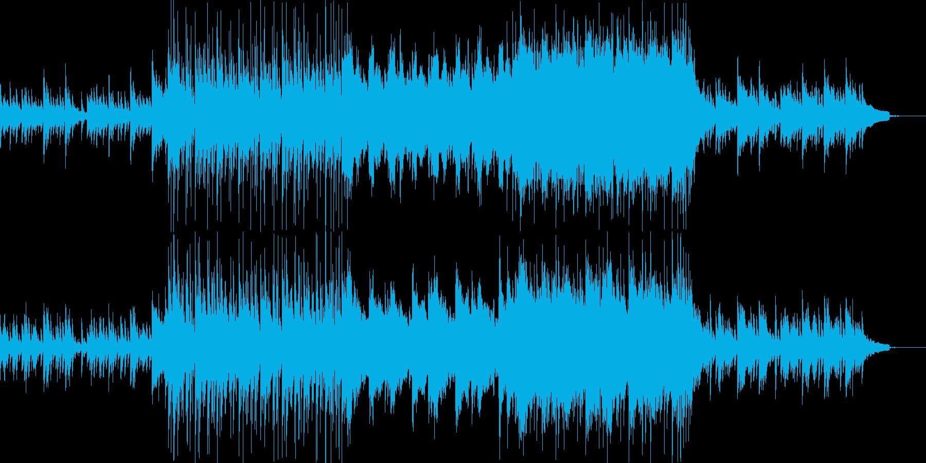 【エンディングBGM】Yoursの再生済みの波形